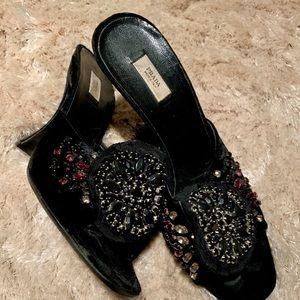 Sexy Black  Prada  Heels